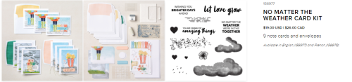 More Card Kits    NO MATTER THE WEATHER CARD KIT