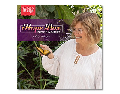 Did you know…..Hope Box Paper Pumpkin Kit