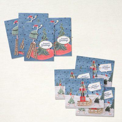 New Christmas Whimsy card kit